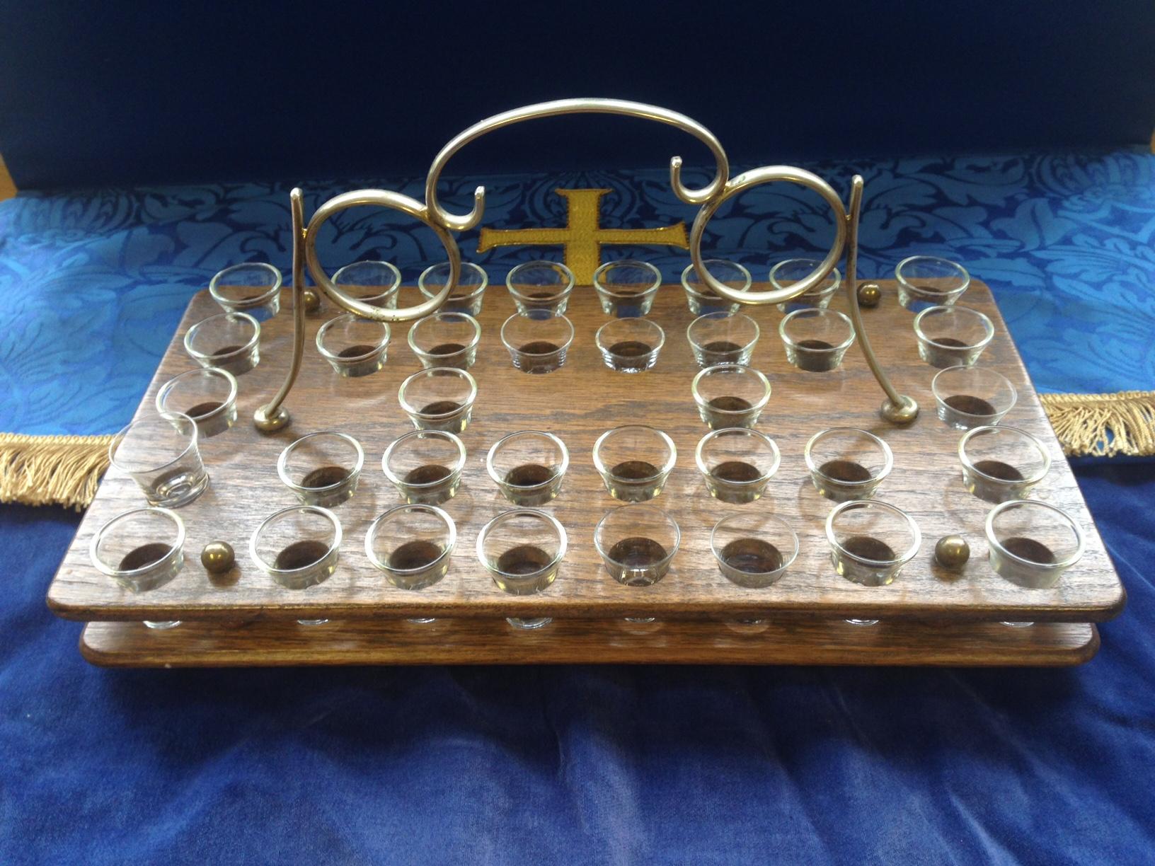 Loans With No Job Required >> 1638 – Communion Glass Set (x 36 glasses) | Southern Synod of the United Reformed Church