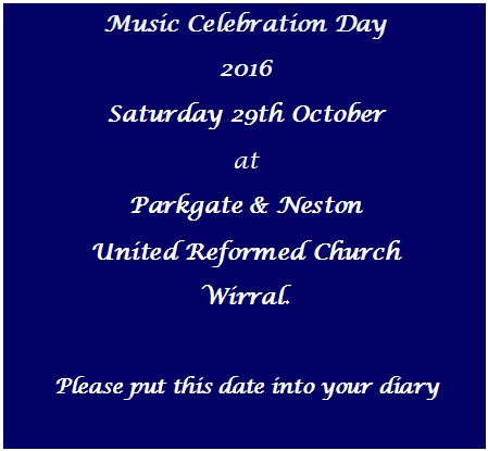 Music Celebration Day 2016