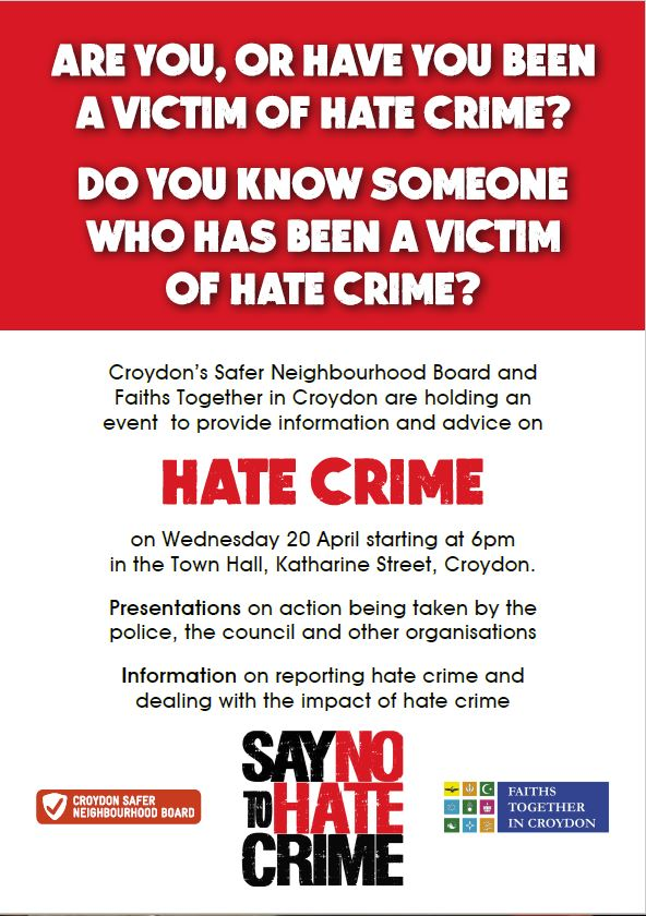 Presentation on Hate Crime - Croydon