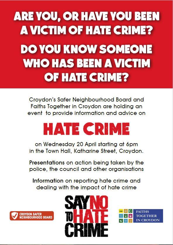 Presentation on Hate Crime - Croydon