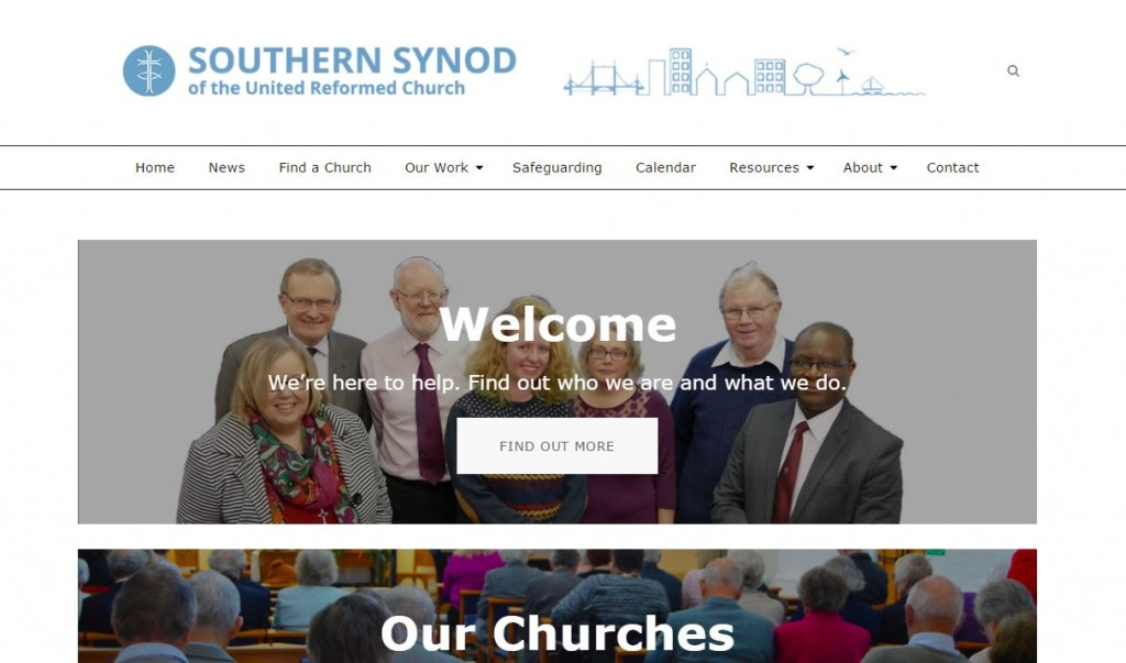 new website Homepage Capture