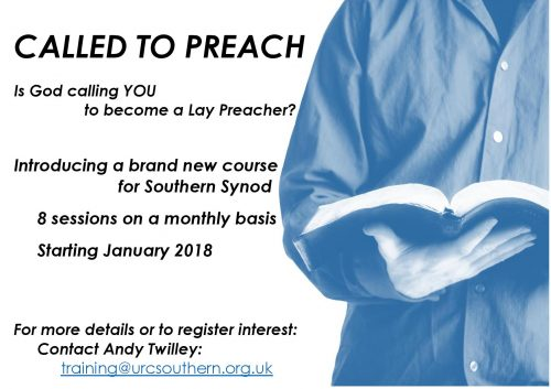 Loans With No Job Required >> Called To Preach – Is God Calling You To Become A Lay Preacher? | Southern Synod of the United ...